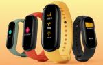 Анонс фитнес браслета Xiaomi Mi Band 5