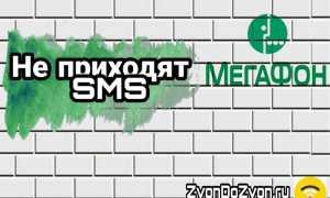 Почему не приходят СМС на мегафон: решаем проблему