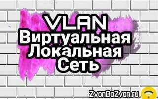 Виртуальная локальная сеть VLAN — Объясняем на картинках
