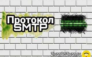 Протокол SMTP что такое и для чего он нужен