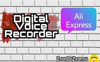 Обзор на Digital Voice Recorder — Цифровой Диктофон Т60 с АлиЭкспресс