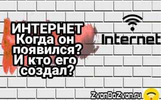 Когда, где и как появился интернет — история развития рунета