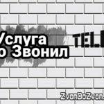 """Описание услуги """"Кто Звонил"""" от Теле 2 - способы отключения, стоимость"""