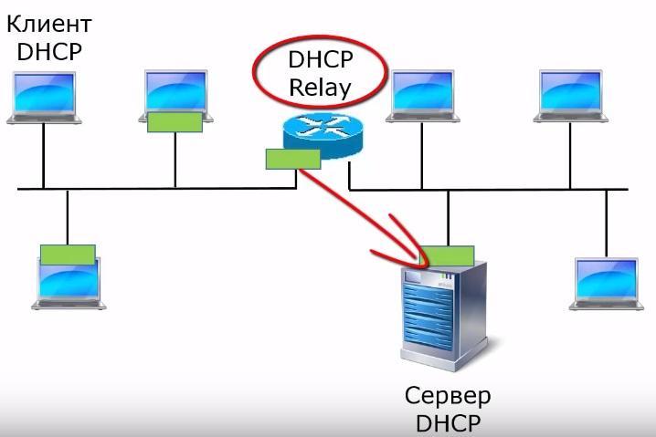 сообщение DHCP Discover от клиента к DHCP серверу